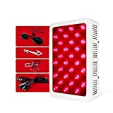 KissMeEssentials Red Light Therapy Lamp - Localized - Professional Strength Infrared Light Therapy - Aids Muscle Recovery, Skin Conditions, Wrinkles and Relaxation - 60 LED Lights