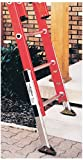 Werner PK80-2 Master Pk80 Automatic Ladder Leveler with Safety Shoes, Aluminum, Silver